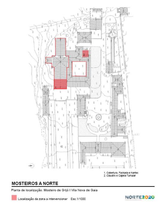 Conservação e restauro do Mosteiro de Grijó