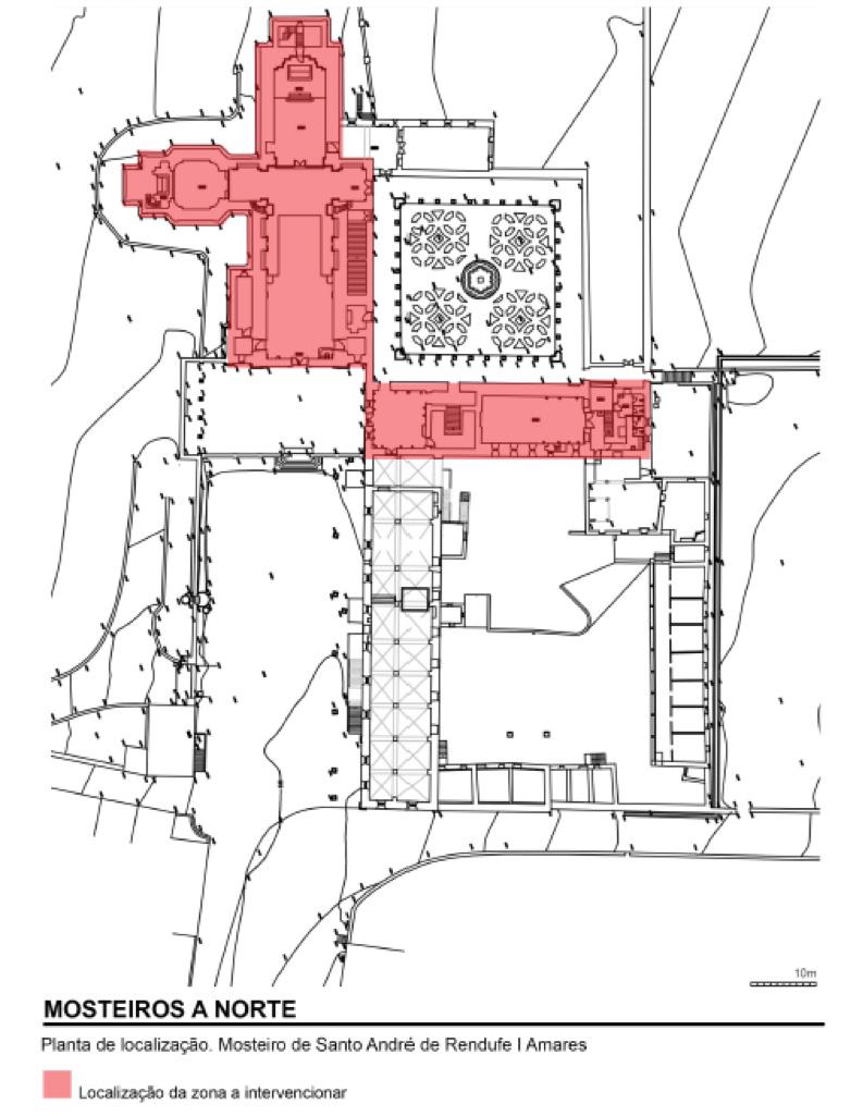 Conservação e restauro do Mosteiro de Rendufe